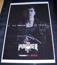 The Punisher 11X17 Netflix TV Poster Jon Bernthal