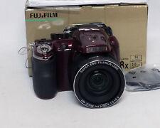 Fujifilm FinePix S Series S4400 14.0MP 28x Optical Zoom Digital Camera RED MINT