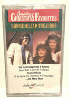 Ronnie Milsap The Judds Country's Christmas Favorites Cassette NWOT New 1991 RCA