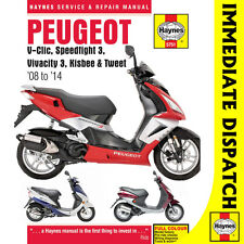 [5751] Peugeot V-Clic Speedfight 3 Vivacity 3 2008-14 Haynes Workshop Manual