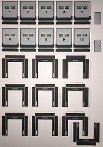 """Rolltore Spedition """"Loading dock"""" mit 10 Toren und Schleusen 1/87 Eigenbau"""