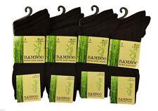 Mens Bamboo Socks Super Soft Non Elastic Antibacterial Brown Mix 6-11 Multipack 3 Pairs