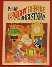 Pop-Up The Night Before Christmas Random House Book Taylor & Brehm RARE VGC