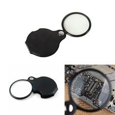 10X Mini Pocket Jewelry Magnifier Magnifying Eye Glass Loupe Lens Camping - SS