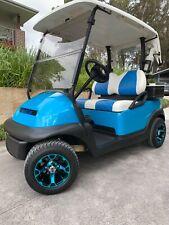 Golf cart Club Car Precedent with alloy wheels