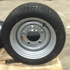 """195 50 13C 104N TRAILER TYRE + WHEELS 5 Stud 6.5"""" PCD for Ifor Williams 900KG"""