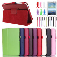 """Case Cover For Samsung Galaxy Tab3  7"""" inch P3200 Free screen protector +Pen"""