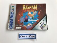 Notice - Rayman - Nintendo Game Boy Color GBC - PAL EUR