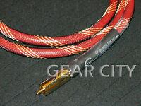 coa20 1m 3ft Digital Coaxial OFC Cable Audio Video AV RCA Plug Subwoofer HiFi