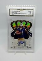 🏈2020 chronicles draft HUNTER BRYANT (auto/(#d/10)/rookie) GMA gem 10🏈 *Lions*