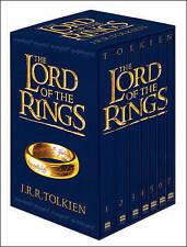 The Lord of the Rings 7 Book Slipcase Film Tie-In by J. R. R. Tolkien (Hardback, 2012)