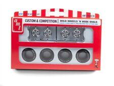 AMT Wild Wheels & Ovals Firestone Wide Oval tire & wheel set 1/25 new 20 *