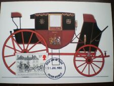 POSTCARD ROYAL MAIL C1797 EXETER - LONDON MAIL COACH - THIS STYLE OF MAIL COACH