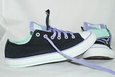 Converse Chuck Taylor All Star Double Tongue Gr: 37,5 Low Tops Lila