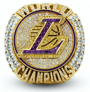 USA -  2020 Los Angeles Lakers NBA Championship Ring - LeBron James Kobe