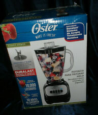 Oster Classic Series Power Booster 5-Speed Crush Pro 4 Blade Blender BLSTCP-B00