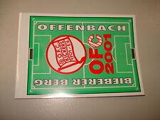 RARITÄT ! Aufkleber Bieberer Berg 2001 Kickers Offenbach ca. 9 x 7 cm