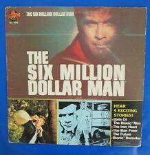 1975 THE SIX MILLION DOLLAR MAN LP VG+/VG+ Power Records 8166 Peter Pan