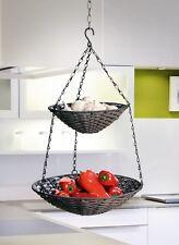 Etagere Hänge-Etagere Gemüsekorb Obstkorb Füllkorb Gemüseampel Hängekorb Küche