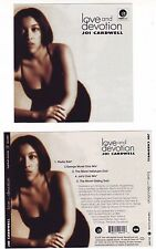 JOI CARDWELL Love and Devotion  World Full Of Trouble  CD INSERTS ONLY Eightball