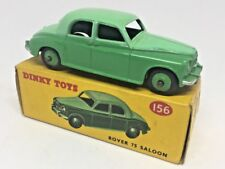 Dinky 156 ROVER 75 SALOON Two-Tone Green - original box + car - both excellent!