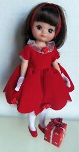 """Tonner 8"""" Tiny BETSY McCALL HAS A HAPPY HOLIDAY Christmas Doll MIB"""