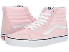 New Vans SK8-Hi Skate Shoes Blushing/True White Unisex 100% Original Ships Free!