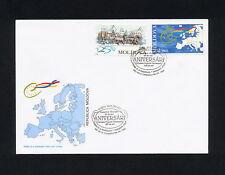 (SBAZ 278) Moldova 1999 FDC UPU 125th Anniversary HORSE EUROPE