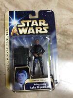 LUKE SKYWALKER Star Wars Action Figure HOLOGRAPHIC JABBA'S PALACE Return Jedi