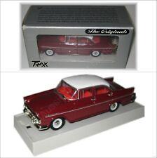 Holden EK Special Sedan Red White Roof TRAX 1:43 Diecast Model Car TR21C