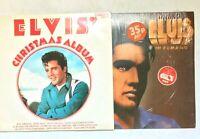 ELVIS PRESLEY Elvis' Christmas Album CDS 1155 + In Demand PL42003 Vinyl LP