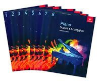 ABRSM Piano Scales & Arpeggios Grade 1,2,3,4,5,6,7,8