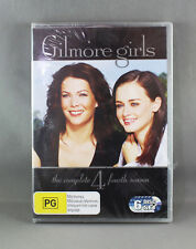 GILMORE GIRLS: SEASON 4 (2010 DVD - 6 DISC SET) BRAND NEW/SEALED R4 PAL