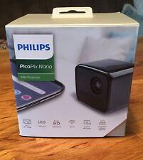 Philips PicoPix Nano Transportabler Mini Beamer Wie Neu!