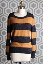 NWT Boy By Band of Outsiders Luce Sweater 3  Mustard Navy Sparkle $695