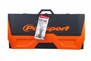 Polisport MotoPad Plastic Pit Mat MX Motocross Ground Cover Orange KTM SX EXC