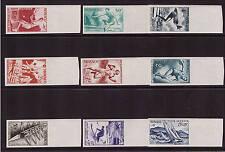 Monaco, Mi-Nr. 339-347 U, ungezähnt, postfrisch (20908)