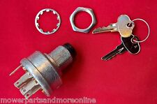 John Deere Mower Ignition Switch. Rep John Deere: AM101561, TCA15075,  STX38,