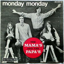 FRENCH EP THE MAMA'S AND THE PAPA'S Monday monday 1966