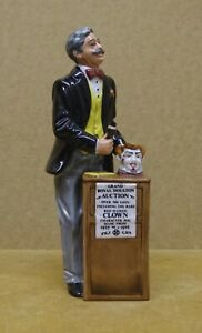 ### SUPER ROYAL DOULTON FIGURINE - THE AUCTIONEER HN2988 ###