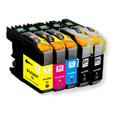 5 PK Quality Ink Set w/ Chip for Brother LC201 LC203 MFC J680DW J880DW J885DW