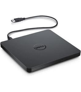 Dell USB DVD Drive-DW316 , Black New