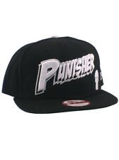 New Era The Punisher 9fifty Snapback Hat Adjustable Marvel Heroes Black Skull