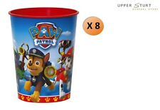 PAW Patrol 16 oz. Plastic Cups Favour Cup 8 Pack Party Supplies