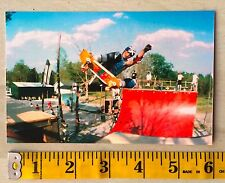JEFF PHILLIPS SKATEBOARD PHOTO 80'S SIMS BBC NSA SKATEPARK HOUSTON TX POSTER