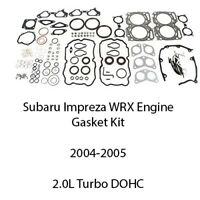 Complete Engine Gasket Kit EJ205 2004-2005 For Subaru WRX 10105AA560 2.0L Turbo