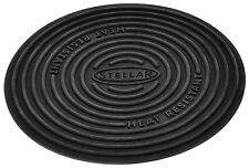 STELLAR 13cm Silicone Trivet Worktop & Non Stick Pan Protector. Two uses in one