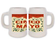 Keramik Bierkrug Retro Cinco De Mayo Bedruckt