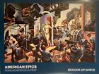 "American Epics,Thomas Hart Benton- Hollywood"" MOVIE STUDIO Museum poster"