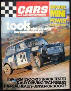 CARS & CAR CONVERSIONS Magazine April 1973 OPEL 1.9 SR Ascona VIVA
